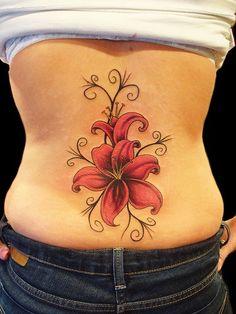 Tribal Fleur de lis Tattoo Design , best tattoo on lower back … – tattoo Larkspur Flower Tattoos, Tribal Tattoos, Tribal Flower Tattoos, Hibiscus Flower Tattoos, Lily Flower Tattoos, Flower Tattoo Designs, Trendy Tattoos, Tatoos, Tattoo Flowers