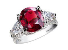 Fabergé bague Devotion http://www.vogue.fr/joaillerie/shopping/diaporama/rubis-rouge-bagues-haute-joaillerie/19186/image/1011556#!faberge-bague-devotion-en-rubis