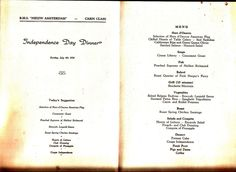 Vintage menu cruise rms nieuw amsterdam holland america line 1950 rms nieuw amsterdam independence day july 4 1954 dinner menu holland america publicscrutiny Image collections