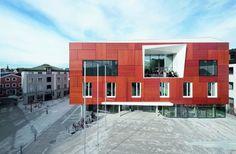 Ayuntamiento de Bad Aibling by Behnisch Architekten (Bad Aibling, Alemania) #architecture
