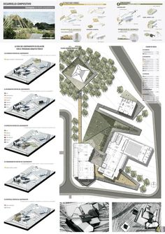 Quick And Easy Landscaping On A Budget - House Garden Landscape Architecture Panel, Architecture Drawings, Architecture Portfolio, Concept Architecture, Landscape Architecture, Landscape Design, Architecture Design, Presentation Board Design, Architecture Presentation Board