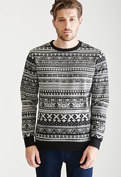 Tribal Print Pullover | 21 MEN | #f21men