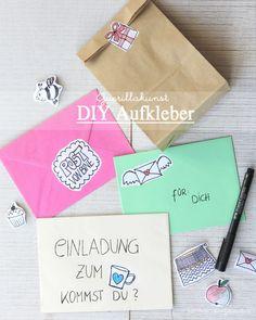 Guerillakunst | Guerillaart | Aufkleber selber machen | DIY Sticker | Anleitung | Tutorial | waseigenes.com