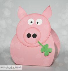 Blumis kreativ Blog: Glücksschweinchen zum neuen Jahr