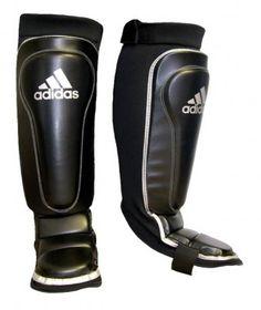 Adidas Ultimax Shin-n-Step Guard - Martial Arts Equipment, Martial Arts Supplies, Boxing, Kung Fu, Karate, MMA