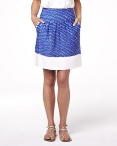 Summer 2013 Collection Polka dot skirt with pockets
