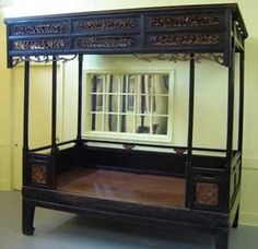 CHINESE WEDDING BEDS | Chinese wedding bed. | Vintage Asian