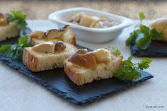 Crostini semplici coi funghi porcini
