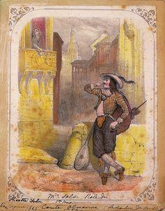 une scne du barbier de sville opra bouffe cr rome en 1816 d - Piece De Theatre Le Mariage De Figaro