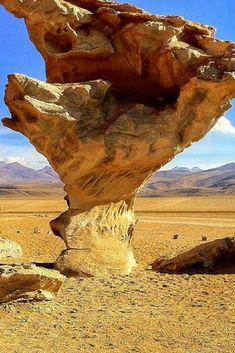 The Rock Tree - Salar de Uyuni, Bolivia http://www.bolivianlife.com/transcendent-landscapes-a-photo-essay-of-salar-de-uyuni/