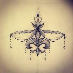 Instagram photo by jessy.cat.tatts - #underbreast #underbreasttattoo #lys #flower #mandala #rosace #ornemental #ornementaltattoo #blackworkers #dot #dotwork #dotworker #ink #inkdesign #tatt #tattooflash #tattooartist #tattoodesign #tattooapprentice #art #doodle #draw #drawing #instatattoo #lyon #nofilter