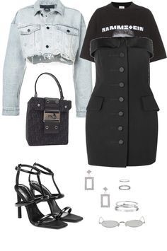created by lamaya on ShopLook.io perfect for Cocktail Party. Visit us to shop this look. Big Girl Fashion, Teen Fashion, Fashion Outfits, Womens Fashion, Fashion Edgy, Unique Outfits, Cool Outfits, Casual Outfits, Nova Clothing