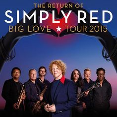 Simply Red In Rome  Simply Red return to the stage for a 30th anniversary world tour entitled the 'Big Love Tour 2015'. They are playing in Rome on the 14th November at the Palalottomatica as part of the tour. Headed by singer Mick Hucknall, the only member to have remained in the band throughout their extensive history, Simply Red have sold a staggering 50 million albums worldwide to date.  http://www.hotelpriscilla.it/en/blog/simplyredinrome.html
