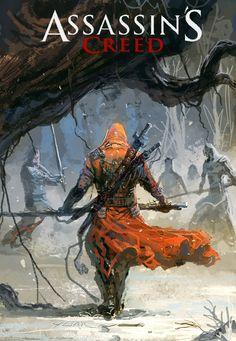 Assassins creed art   Geek Art: Assassins Creed Set in China - News - GeekTyrant