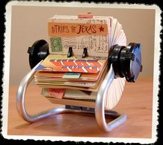 Rolodex Scrapbook ideas-and-inspirations