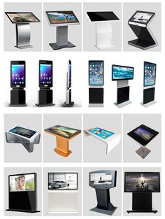 Digital Signage Advertising Information Kiosk Video Outdoor Kiosk Touch Screen
