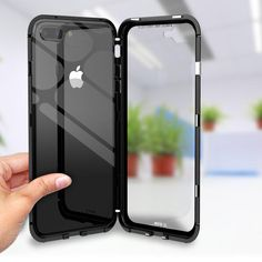 Aluminum iPhone case with tempered glass Shock proof scratch proof, dent proof Pin for later! Iphone 7, Iphone Phone Cases, Gadgets, Cracked Screen, 6s Plus, Multimedia, Protective Cases, Samsung Galaxy, Apple