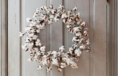 Our Cotton Wreath is made from natural cotton steams and flowers. Hang this Cotton Boll Wreath on a door or use it as a candle ring on a tabletop! For more visit, www.decorsteals.com OR www.facebook.com/DecorSteals