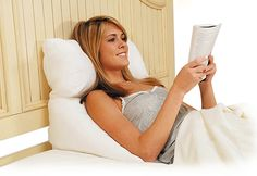 10-in-1 Flip Pillow...reading in bed comfort