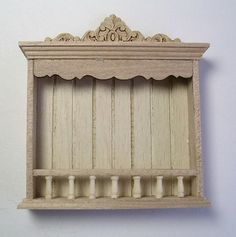 Vilia Miniature miniature dollhouse plate rack - New England Miniatures