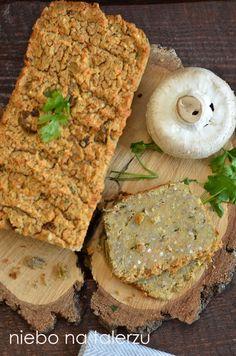 niebo na talerzu: Pasztet z warzyw i soczewicy. Zdrowy, wegetariański pasztet z kaszy
