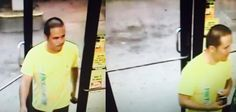 """Let's help Detective Robinson ID this credit card thief #GlenBurnie #Pasadena  The pictured suspect was involved with using a stolen credit card that was taken in a Theft from Auto from """"Glory Days"""" on July 21, 2015.  The card was used at the BP Gas Station at 300 Mountain Rd. The suspect was with another suspect who was not in camera view.  Anyone with information pertaining to his identity is asked to contact Detective Robinson at 410-222-6135."""