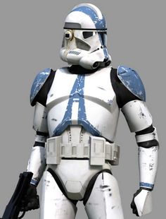 Original Clone Trooper Helmets and Armor 501st