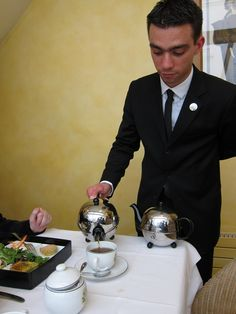 Tea at Mariage Frères in Paris, France