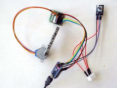 Arduino Nano and Visuino: Control Stepper Motor with Rotary Encoder #Arduino…