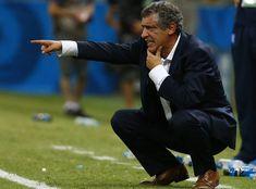 Fernando Santos Grécia x Costa do Marfim (Foto: Reuters)