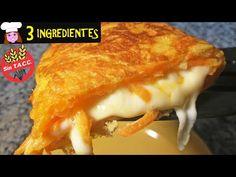 Cena lista 3 ingredientes (ZANAHORIA, QUESO Y HUEVO) sin horno, sin harinas, fácil, rápido y barato - YouTube Baked Chicken Legs, Pancakes And Waffles, Cheesesteak, Eating Well, Lasagna, Risotto, Carrots, Veggies, Healthy Eating