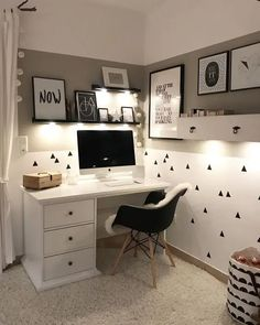 Home Office Chairs, Home Office Space, Home Office Design, Home Office Decor, Home Decor, Office Chic, Executive Office Decor, Office Workspace, Small Office