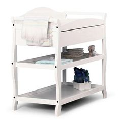 Storkcraft - Aspen Changing Table with Drawer, White