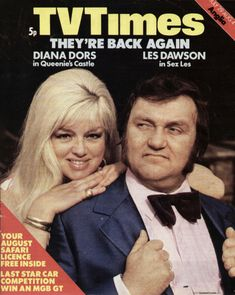 TVTimes Anglia 29 July - 4 August 1972: Diana Dors and Les...