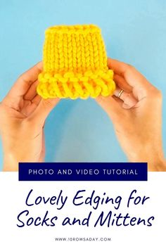 Cast On Knitting, Knitting Stiches, How To Start Knitting, Knitting Videos, How To Purl Knit, Easy Knitting, Knitting For Beginners, Knitting Socks, Knitting Projects