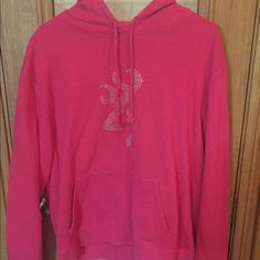 Rhinestone Browning hoodie Pink rhinestone browning hoodie Browning Jackets & Coats
