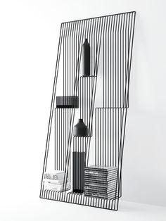 Coup de cœur : Une étagère illusion «Field » par Dmitry Kozinenko