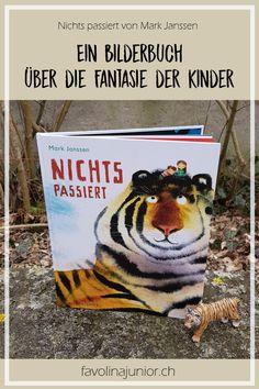 """Favolina und Junior: Bilerbuch: """"Nichts passiert"""" von Mark Janssen"""