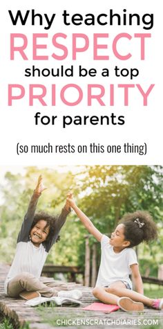 Raising kids who respect parents and others is something that must be done with intention. Here's some great tips to work in these learning opportunities with your kids. Informationen zu Inspiring Respectful Behavior: a Positive Approach for Parents Parenting Styles, Parenting Books, Parenting Teens, Parenting Advice, Mom Advice, Teaching Kids Respect, Raising Godly Children, Raising Kids, Teaching Ideas