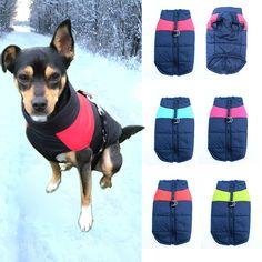 Dog Clothes For Small Dog Winter Pet Dog Clothing Puppy Chihuahua Waterproof Small Large Dog Coat Jacket Ropa Para Perro S-5XL36