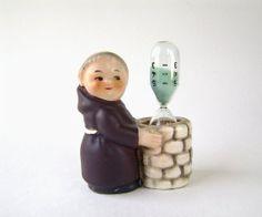 Hummel Goebel Friar Tuck Egg Timer Bee Vintage by OldAuntsAttic, $35.00