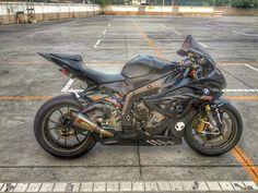 Bmw S1000RR Black Akrapovic