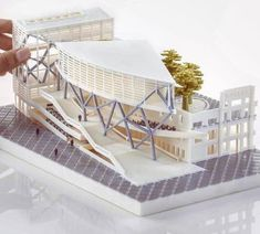 Likes, 14 Comments - ᴀʀᴄʜɪᴛᴇᴄᴛs ᴠɪsɪᴏɴ ( - Baustil Maquette Architecture, Architecture Concept Diagram, Library Architecture, Architecture Presentation Board, School Architecture, Architecture Design, Hospital Design, Arch Model, Building Design
