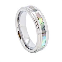 Abalone center ring, $29.95