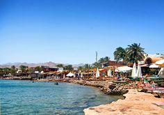 Dahab, Sinai, Egypt; we went snorkeling here.
