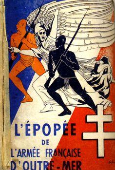 11944 L'épopée de l'Armée française d'Outre-Mer Livre Couverture Publiée à…