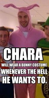 zdeno chara bunny costume - Google Search