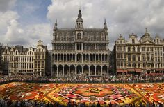 "Best time to visit the Grand Place in Bruxelles is when they have ""Le Tapis De Fleurs"". Incredible!"