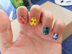 http://www.maquillage.com/2-nails-art-faciles-pour-lete/ 2 Nails Art faciles pour l'été