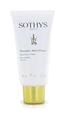 Sothys Absorbant Mask by Sothys. $22.40. Dry up small spots, tighten pores, and absorb excess oil.. This ultra-absorbant mask helps to dry up small spots, tightens pores, absorbs excess sebum (oil), and removes other types of impurities. Its powdery-creamy texture is easy to apply and remove.. Save 25%!